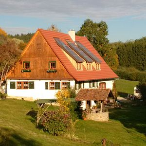 Photo for Relaxing in an idyllic self-catering house in the middle of nature