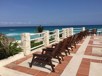 "Photo for Affordable Cancun Oceanfront Condo at the ""Zona Hotelera"" (Hotel Zone)"