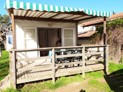 Photo for Camping La Bergerie Plage **** - 2-room Océane mobile home for 2 people
