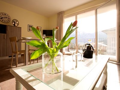 Photo for Lenno Regina Centro 2 bedroom home with Private Terrace And Balcony