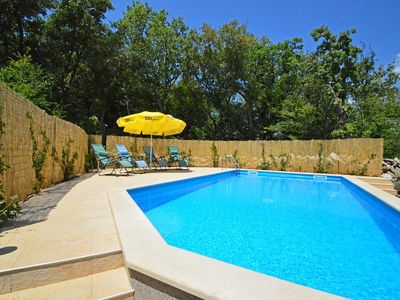 Photo for This 3-bedroom villa for up to 5 guests is located in Krk Island and has a private swimming pool, ai
