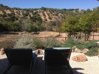 Photo for Casita for 2 with plunge pool nestling in the olive groves