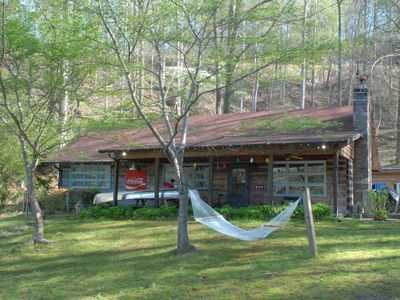 Photo for Lakefront: NC Mountain Cabin on Lake Lure