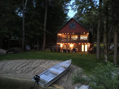 Photo for Cozy Sebago Lake Retreat