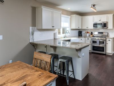 Photo for Close to Bachelor and Old Mill with Chef's Kitchen and Soaking Tub