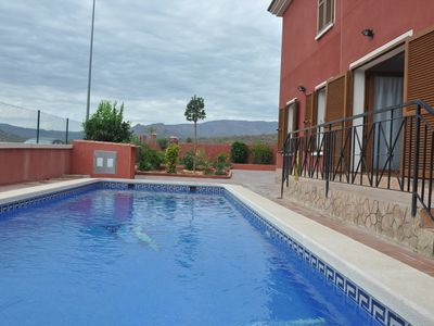 Photo for Independent apartment with private swimming pool