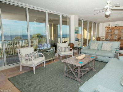 Photo for Oceania 207- Updated 3BR Gulf front unit with almost 2000 sf