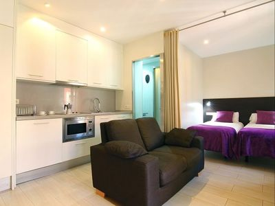 Photo for Barceloneta Beach IV 2 apartment in Barceloneta with WiFi, air conditioning & balcony.