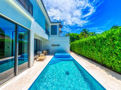 Photo for Olde Naples Luxury - Single Family Heated Pool and Spa Home - Walk to the Beach and 5th Ave S.