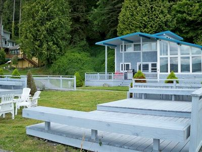Photo for Spectacular Beach House on the South Shore of Whidbey Island!