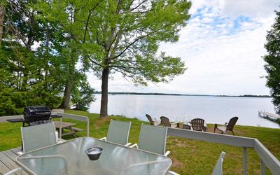 "Photo for Waterfront Cottage ""Waupoos View"" Milford, Prince Edward County, Ontario K0K 2P0"