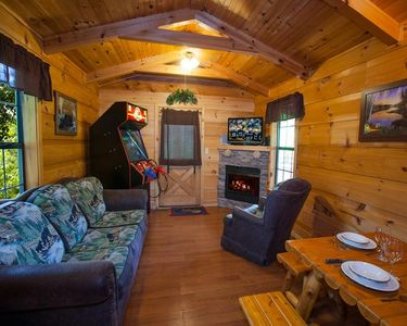 Photo for Bear Cub - 1BR in Pigeon Forge, economic, cozy honeymoon or child-friendly cabin getaway!