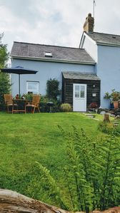 Photo for Cosy cottage in West Wales with private garden 🌻  Pet friendly