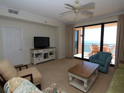 Photo for Seachase 905C- Beach Front Views from Terrace and Coastal Interior!