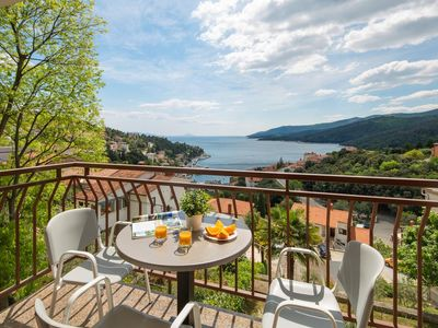 Photo for Three bedroom apartment with terrace and sea view Rabac, Labin (A-3015-a)