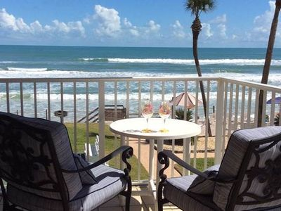 Photo for New Smyrna Beach Oceanfront Bungalow 201