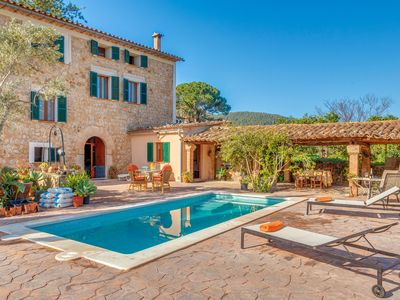 Photo for Vacation home with garden and view – Villa Frontera