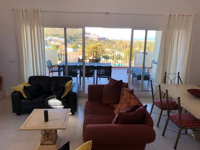 Photo for Discounted! La Manga Club Los Olivos Penthouse 3 bed  Sea Views Central location