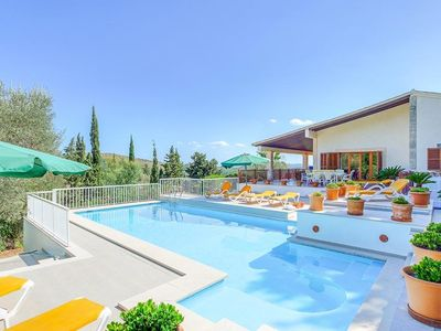 Photo for 5 bedroom Villa, sleeps 12 in Cala San Vicente with Pool, Air Con and WiFi
