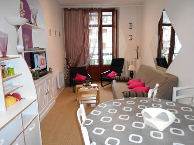 Photo for Town centre apartment, close to the thermal baths, 1 main room + 2 bedrooms