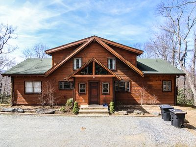 Photo for Boles Lodge - 5BR, 3BA - Hot Tub - Game Room - Outdoor Fireplace