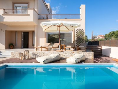 Photo for Villa Chrissiida with private pool