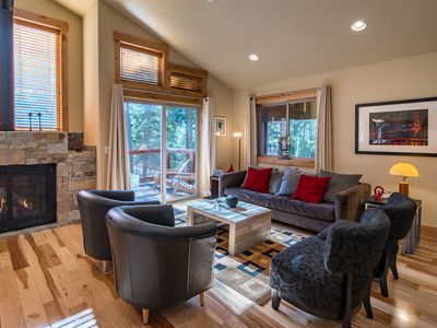 Photo for Modern 3br,3ba Cabin with Golf Course and 5 Star Amenity Access  Nearby