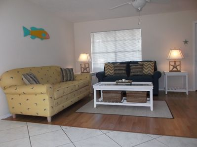 Kick off your shoes and relax in your spacious living room!