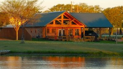 A crisp morning on Lake Fork at Sunrise Lodge!