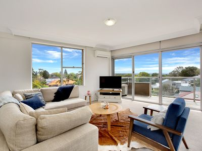 Photo for Light filled apartment with views from the city to North Bondi