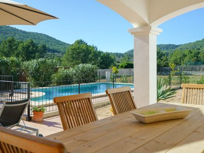 Photo for Fantastic Villa with pool, close to the best beaches in the south of the island.
