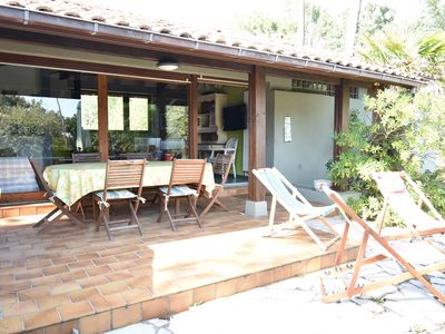 Photo for Capbreton - Pleasant house of the 80's located in a residential area, 800m away from the yatch...