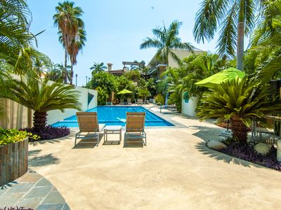 Photo for Walk to Beach & Town from this Centrally Located Poolside Condo
