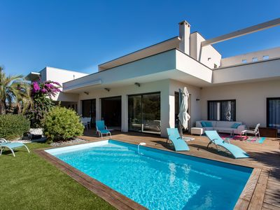 Photo for Superb villa with pool in AGDE