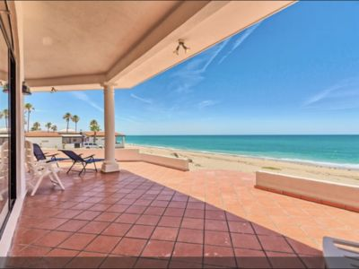 Photo for Beachfront Hacienda in Las Conchas