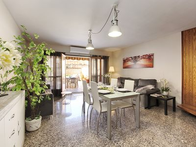 Photo for HOUSE in the center of Calella, with air conditioning, next to the beach