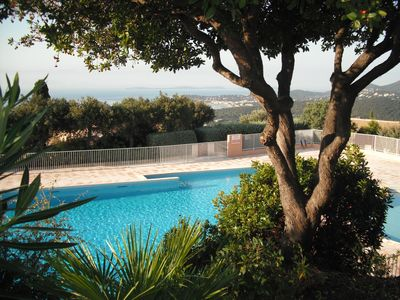 Photo for Holiday rental in LA CROIX VALMER: private domain with swimming pool