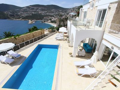 Photo for Large 5 Bedroom Luxurious Villa in Kalkan with Private Pool and Fantastic Views