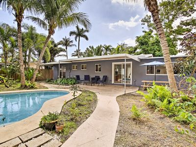 Photo for Renovated Oakland Park Home w/ Yard, Patio & Pool!