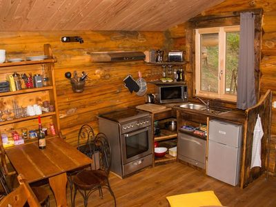Photo for Log Cabin Les Convers