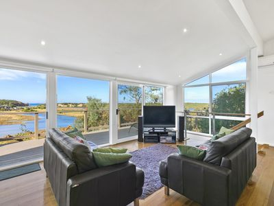 Photo for THE PK FAIRHAVEN - with views of the river meeting the ocean