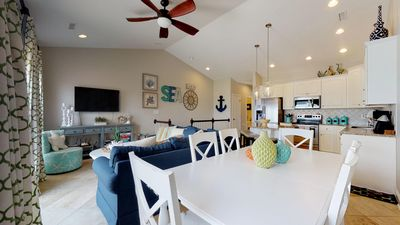 Photo for Oceanfront complex with community pool, Sleeps 11.