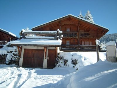 Photo for Wooden chalet 250 m² for 9 people