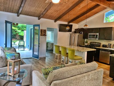 Photo for Modern, Rustic Cottage Near Hawaii Volcano National Park
