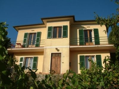 Photo for House in medieval village nr. the sea with view of mountains, Pisa, Cinque Terre