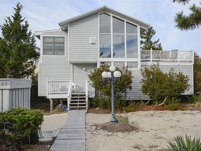 Photo for FREE ACTIVITIES INCLUDED!!! One house back from the ocean front this  4 bedroom, 2 bath  beach house features an inverted floor plan