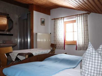 Photo for Donnerkogel double room - Payrhof - Family holiday at the Bio-Bergbauernhof