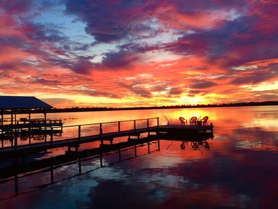 Enjoy the Beauty from your own dock