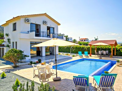 Photo for Argaka 3 Bed Villa - Stunning Sea Views - Infinity Swimming Pool - Wifi