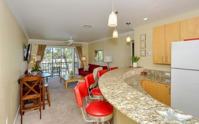"Photo for Charming condo at La Siesta with Partial Beach Views ""Your home away from home"""